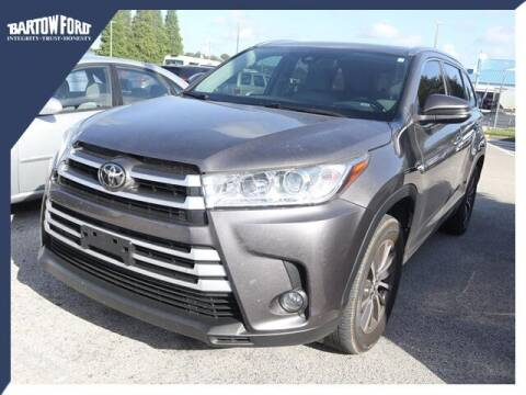 2018 Toyota Highlander for sale at BARTOW FORD CO. in Bartow FL
