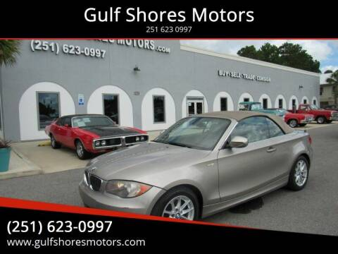 2011 BMW 1 Series for sale at Gulf Shores Motors in Gulf Shores AL