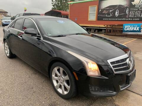 2013 Cadillac ATS for sale at JAVY AUTO SALES in Houston TX