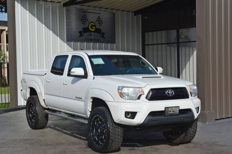 2012 Toyota Tacoma for sale at G MOTORS in Houston TX