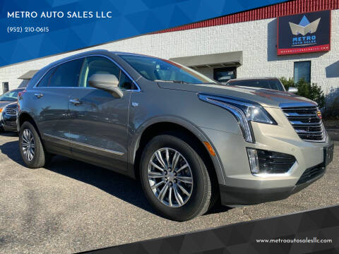 2019 Cadillac XT5 for sale at METRO AUTO SALES LLC in Blaine MN