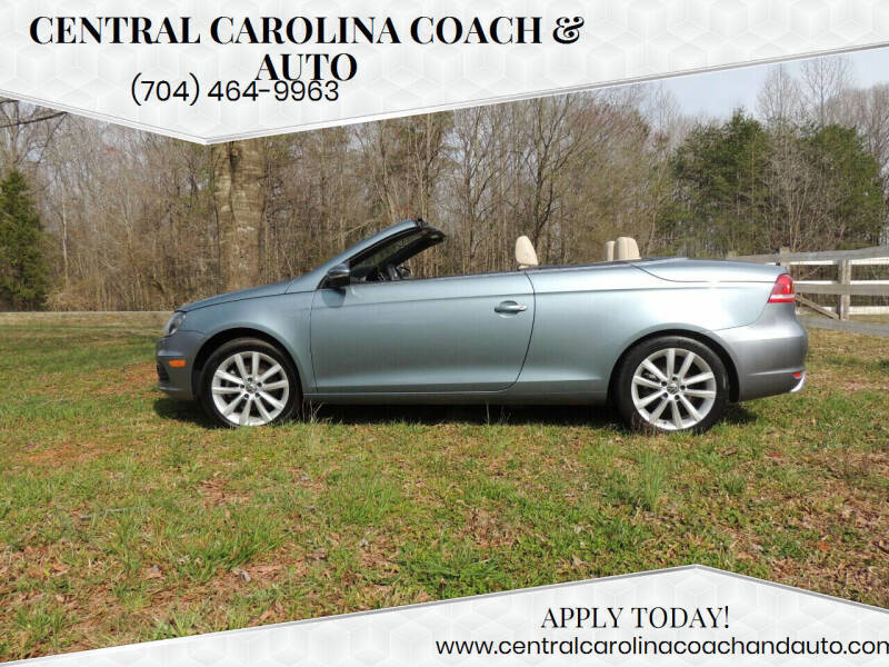 2012 Volkswagen Eos for sale at Central Carolina Coach & Auto in Lenoir NC