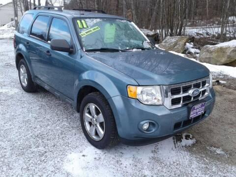 2011 Ford Escape for sale at Quest Auto Outlet in Chichester NH
