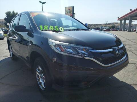 2015 Honda CR-V for sale at Painter's Mitsubishi in Saint George UT