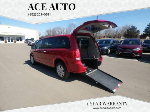 2015 Dodge Grand Caravan for sale at Ace Auto in Jordan MN