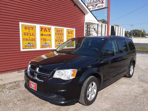 2013 Dodge Grand Caravan for sale at Mack's Autoworld in Toledo OH