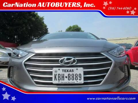 2018 Hyundai Elantra for sale at CarNation AUTOBUYERS Inc. in Rockville Centre NY