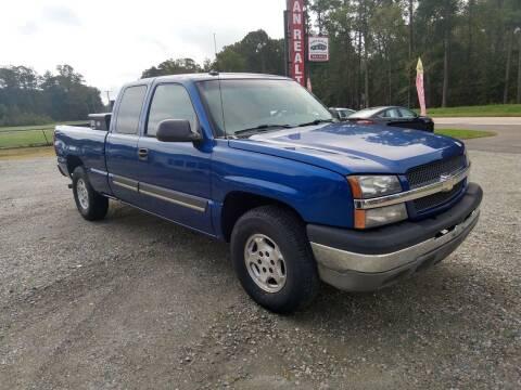 2003 Chevrolet Silverado 1500 for sale at Premier Auto Solutions & Sales in Quinton VA