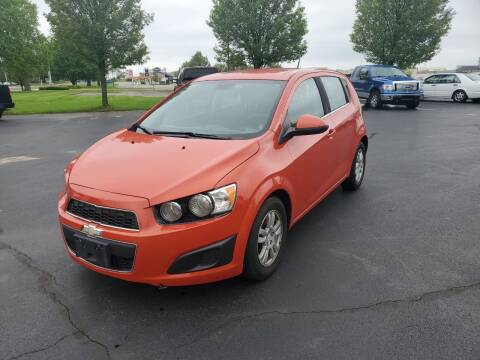 2012 Chevrolet Sonic for sale at Boardman Auto Exchange in Youngstown OH