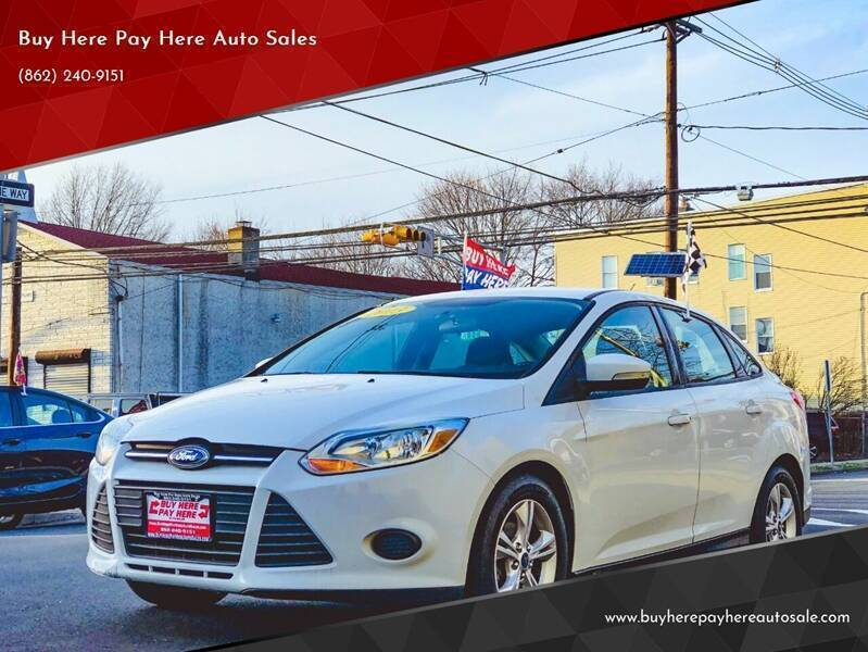 2013 Ford Focus for sale at Buy Here Pay Here Auto Sales in Newark NJ