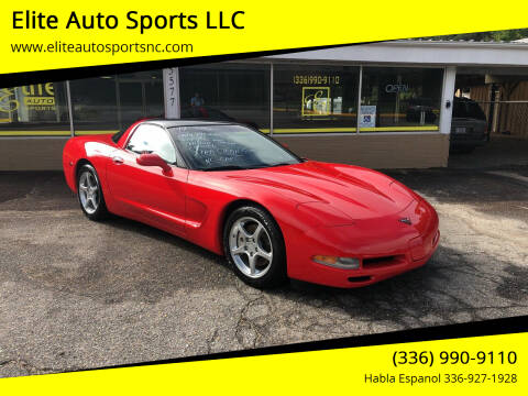 1999 Chevrolet Corvette for sale at Elite Auto Sports LLC in Wilkesboro NC