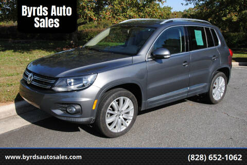 2013 Volkswagen Tiguan for sale at Byrds Auto Sales in Marion NC
