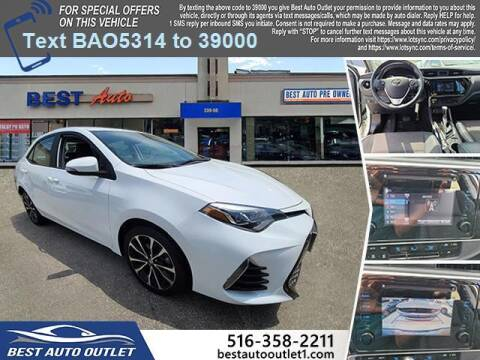 2019 Toyota Corolla for sale at Best Auto Outlet in Floral Park NY