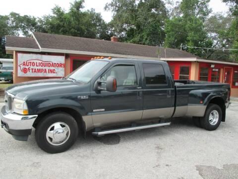 2004 Ford F-350 Super Duty for sale at Auto Liquidators of Tampa in Tampa FL