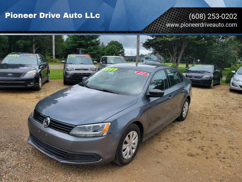 2011 Volkswagen Jetta for sale at Pioneer Drive Auto LLc in Wisconsin Dells WI