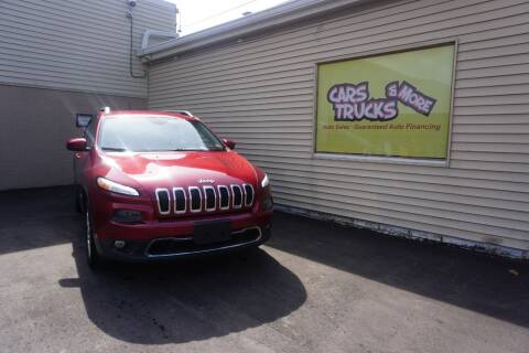2014 Jeep Cherokee for sale at Cars Trucks & More in Howell MI