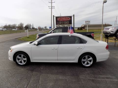 2014 Volkswagen Passat for sale at MYLENBUSCH AUTO SOURCE in O` Fallon MO