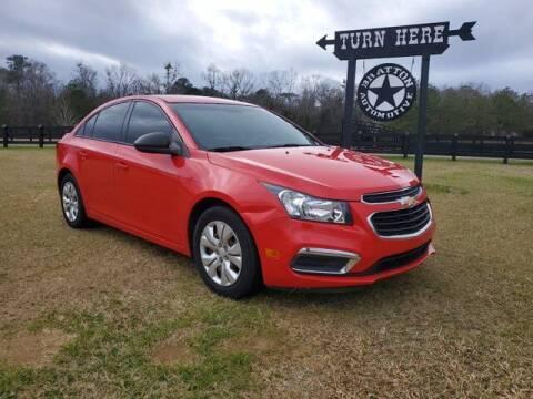 2016 Chevrolet Cruze Limited for sale at Bratton Automotive Inc in Phenix City AL