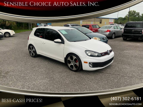 2013 Volkswagen GTI for sale at Sensible Choice Auto Sales, Inc. in Longwood FL
