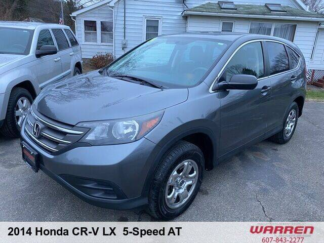 2014 Honda CR-V for sale at Warren Auto Sales in Oxford NY