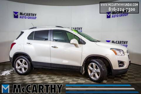 2015 Chevrolet Trax for sale at Mr. KC Cars - McCarthy Hyundai in Blue Springs MO