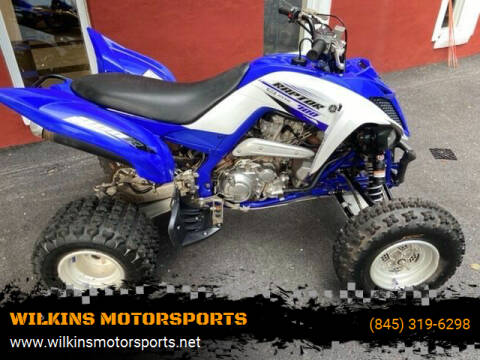 2015 Yamaha Raptor for sale at WILKINS MOTORSPORTS in Brewster NY