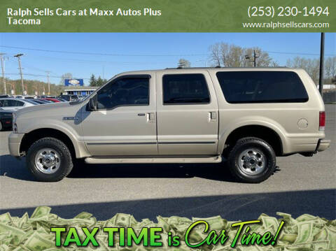 2005 Ford Excursion for sale at Ralph Sells Cars at Maxx Autos Plus Tacoma in Tacoma WA