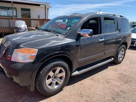 2008 Nissan Armada for sale at PYRAMID MOTORS - Fountain Lot in Fountain CO