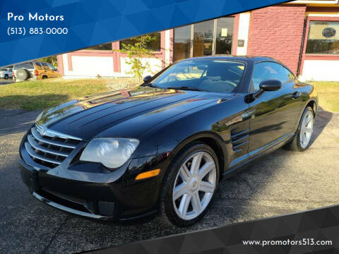 2006 Chrysler Crossfire for sale at Pro Motors in Fairfield OH