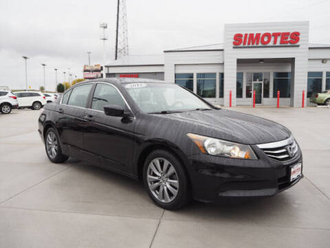 2011 Honda Accord for sale at SIMOTES MOTORS in Minooka IL