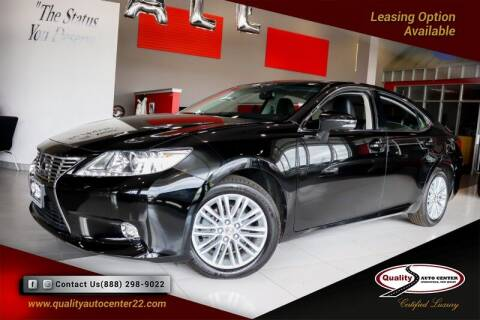 2014 Lexus ES 350 for sale at Quality Auto Center of Springfield in Springfield NJ