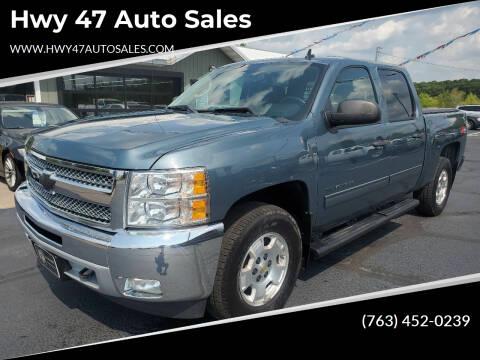 2013 Chevrolet Silverado 1500 for sale at Hwy 47 Auto Sales in Saint Francis MN