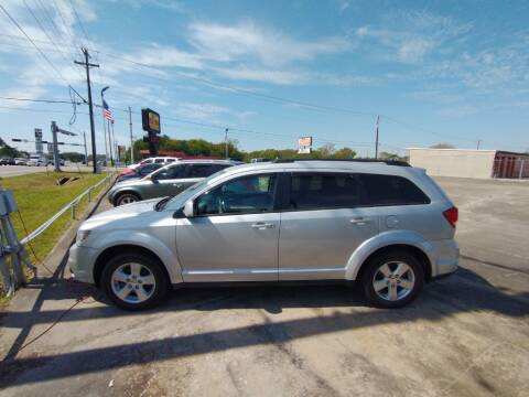 2012 Dodge Journey for sale at BIG 7 USED CARS INC in League City TX
