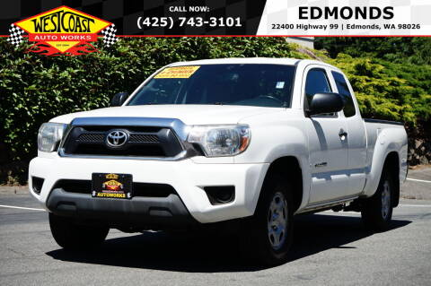 2013 Toyota Tacoma for sale at West Coast Auto Works in Edmonds WA