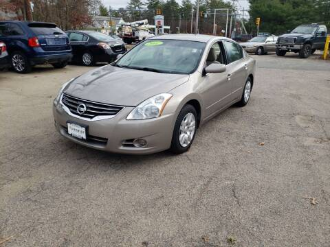 2011 Nissan Altima for sale at Topham Automotive Inc. in Middleboro MA