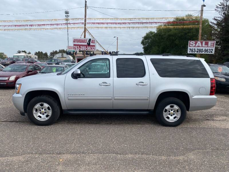 2013 Chevrolet Suburban for sale at Affordable 4 All Auto Sales in Elk River MN