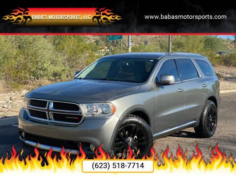2012 Dodge Durango for sale at Baba's Motorsports, LLC in Phoenix AZ