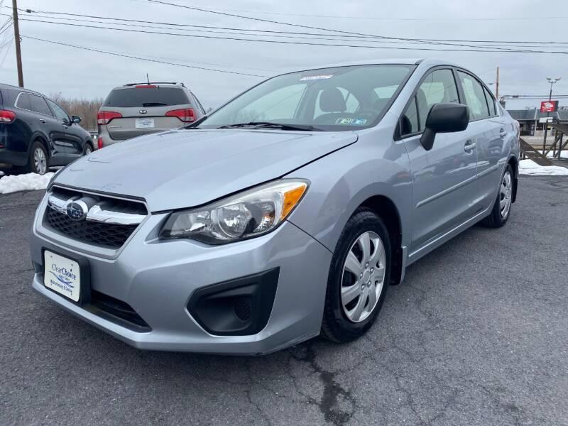 2014 Subaru Impreza for sale at Clear Choice Auto Sales in Mechanicsburg PA