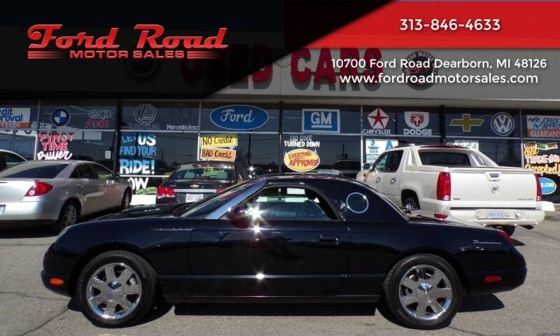 2002 Ford Thunderbird for sale at Ford Road Motor Sales in Dearborn MI