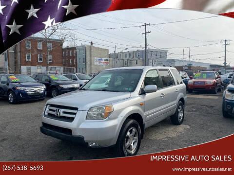 2006 Honda Pilot for sale at Impressive Auto Sales in Philadelphia PA