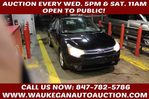 2008 Ford Focus for sale at Waukegan Auto Auction in Waukegan IL