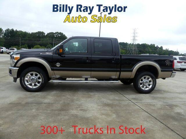 2012 Ford F-350 Super Duty for sale at Billy Ray Taylor Auto Sales in Cullman AL