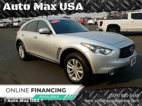 2017 Infiniti QX70 for sale at Auto Max USA in Yakima WA