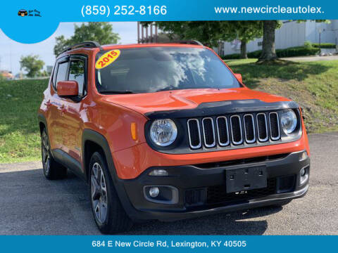 2015 Jeep Renegade for sale at New Circle Auto Sales LLC in Lexington KY