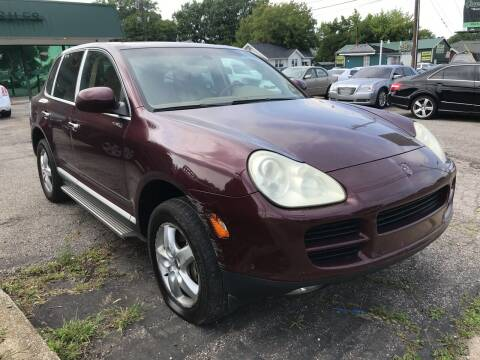 2004 Porsche Cayenne for sale at GREENLIGHT AUTO SALES in Akron OH
