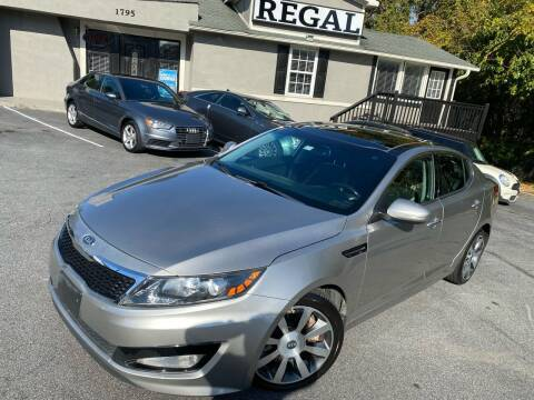 2012 Kia Optima for sale at Regal Auto Sales in Marietta GA