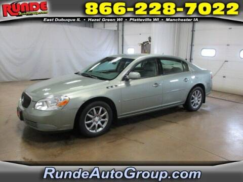 2007 Buick Lucerne for sale at Runde Chevrolet in East Dubuque IL