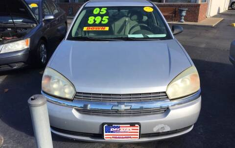 2005 Chevrolet Malibu for sale at Deckers Auto Sales Inc in Fayetteville NC