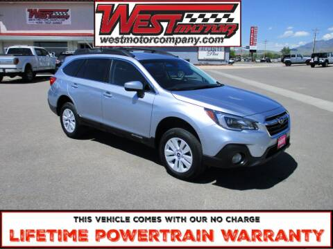 2019 Subaru Outback for sale at West Motor Company in Preston ID