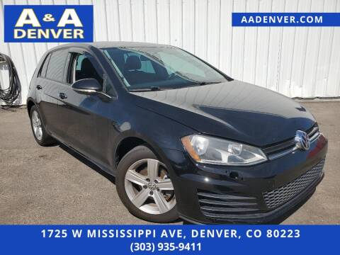 2015 Volkswagen Golf for sale at A & A AUTO LLC in Denver CO